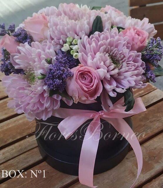 Caja de Flores - 1 Con nombre